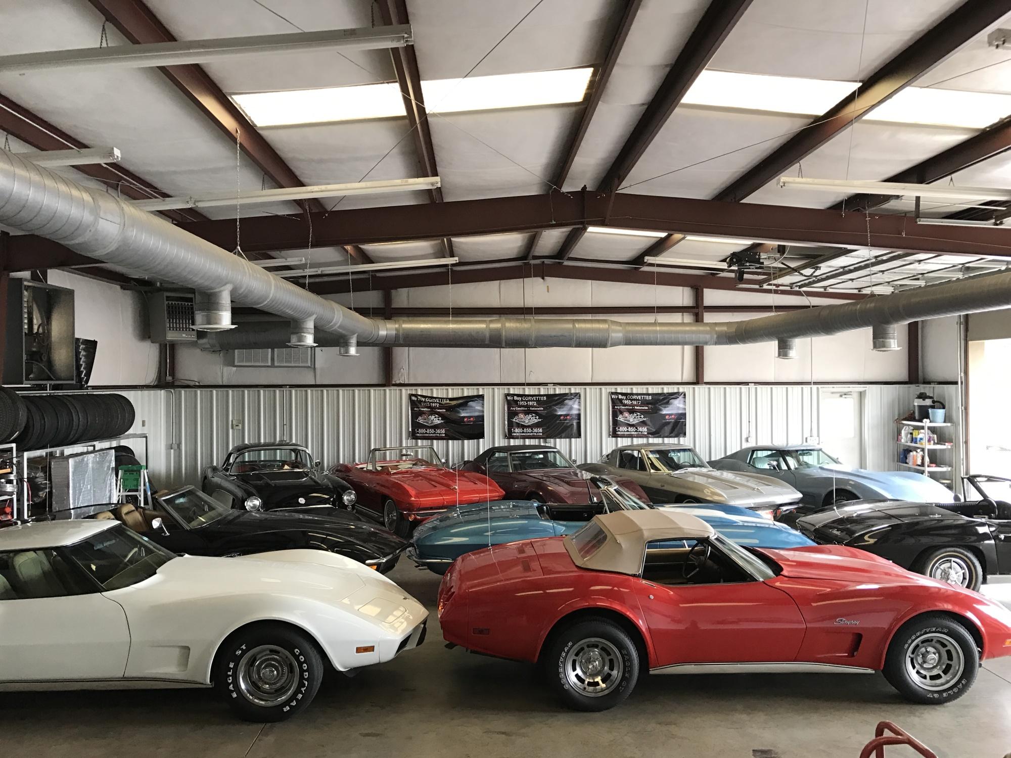 We Buy 1953 - 1972 Corvettes!   Vince Conn Corvette Sales