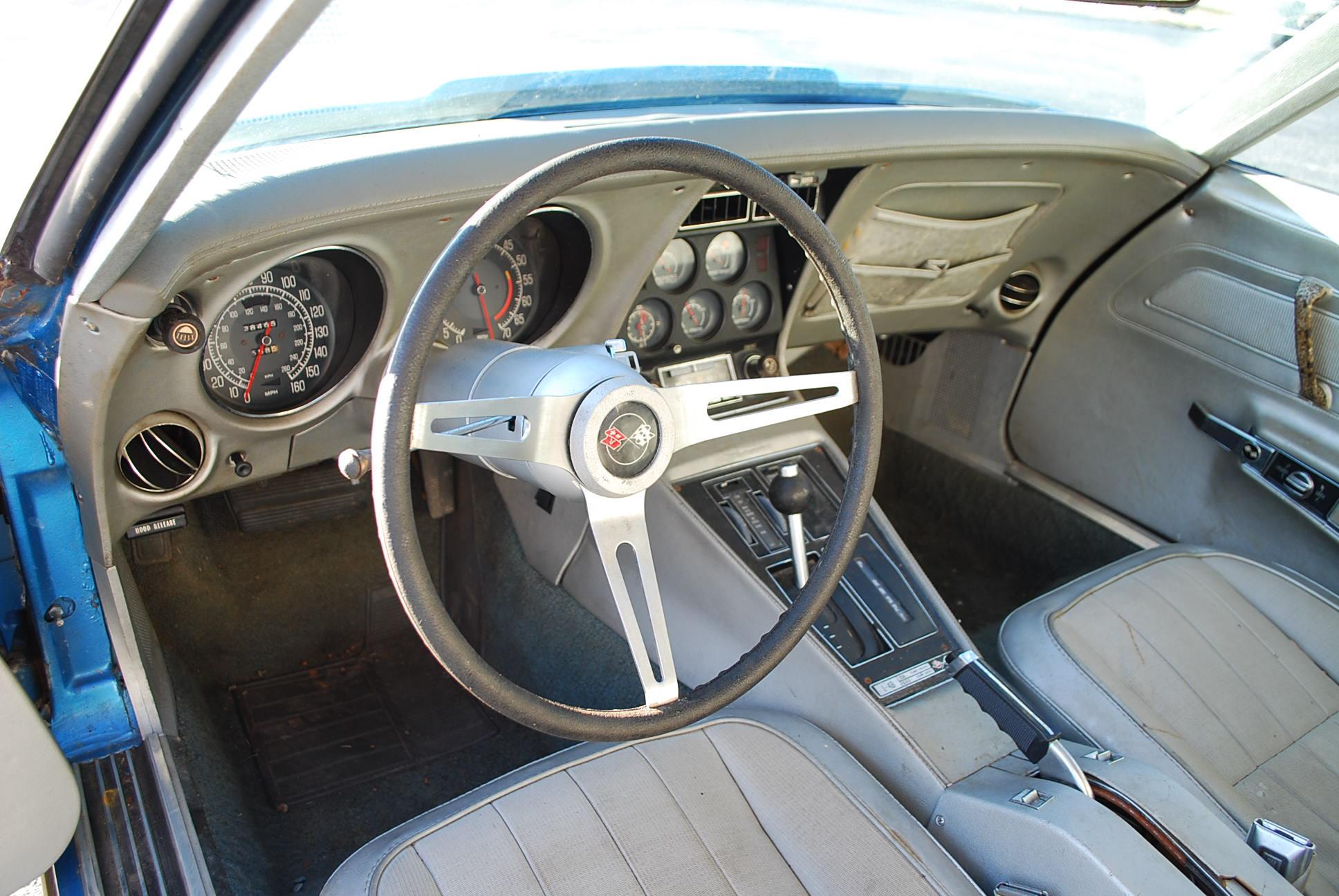 1975 Corvette Convertible - Great Project Car (SOLD)   Corvettes for